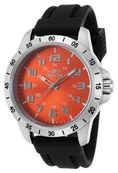 Pro Diver Men 45mm Case Polyurethane Strap Dial Quartz Watch 21837