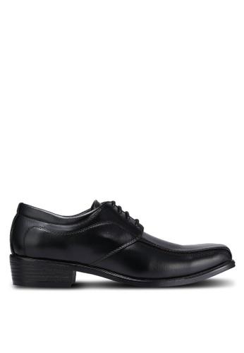 Albertini black Lace Up Dress Shoes AL779SH0RJT0MY_1