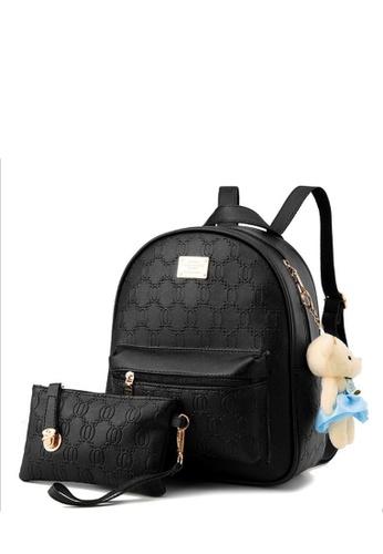 TCWK black Ladies Backpack TC258AC56IXRMY_1
