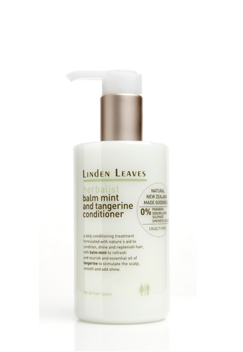 Linden Leaves Linden Leaves Herbalist Balm Mint & Tangerine Conditioner LI526BE79WXGMY_1