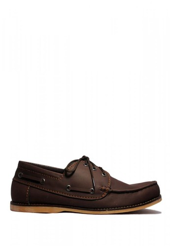 D-Island brown D-Island Shoes Oxford Davis Smooth Leather Brown DI594SH62PKFID_1