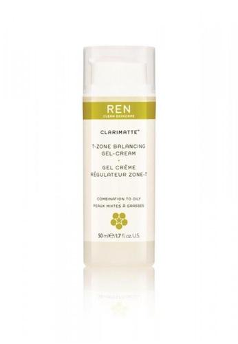 REN white Clarimatte™ T-Zone Balancing Gel Cream RE428BE0G4WNSG_1