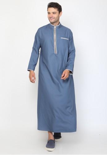 Allev blue Uwais Thobe - Biru Tosca 6CC74AA0A71418GS_1