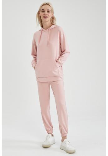 DeFacto pink High Waist Athleisure Jogger 4F0B1AA2F36605GS_1