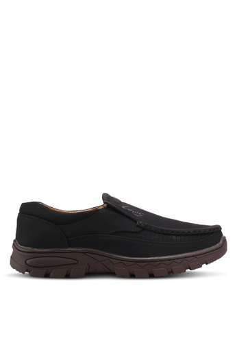 Louis Cuppers black Casual Loafers C61CFSHBF77C81GS_1