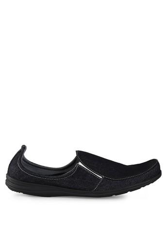 Dr. Kevin black Loafers, Moccasins & Boat Shoes 13273 Hitam Denim DR982SH0UO2BID_1