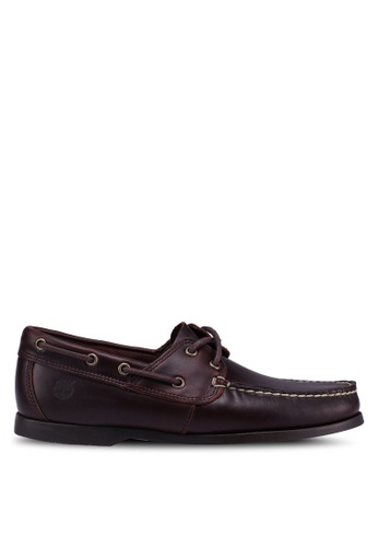 Timberland brown Cedar Bay Boat Shoes 44D66SH41A1776GS_1