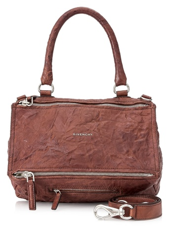 GIVENCHY brown Pre-Owned Givenchy Medium Pandora CFDAAAC7EDE2D7GS_1