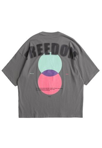 Twenty Eight Shoes Trend Printed Short T-shirt 5145S21 DF41DAAB85F56DGS_1