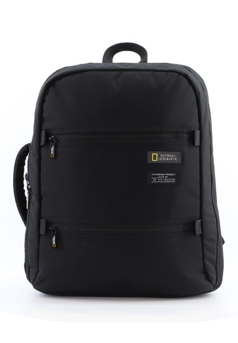National Geographic black National Geographic Mutation 2 Compartment Backpack Black 0FA37AC6AB85CBGS_1