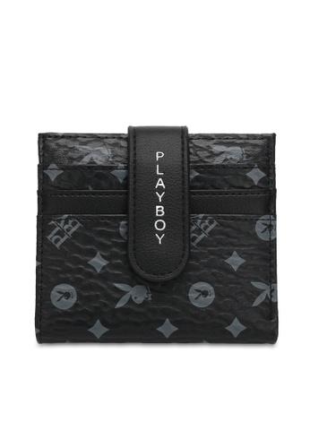 PLAYBOY BUNNY black Logo Cardholder 1D7B3ACD1F1ABCGS_1
