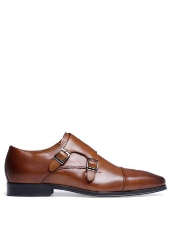 Twenty Eight Shoes Leather Monk Strap Shoes 201608-22 98381SH14E6C8EGS_1