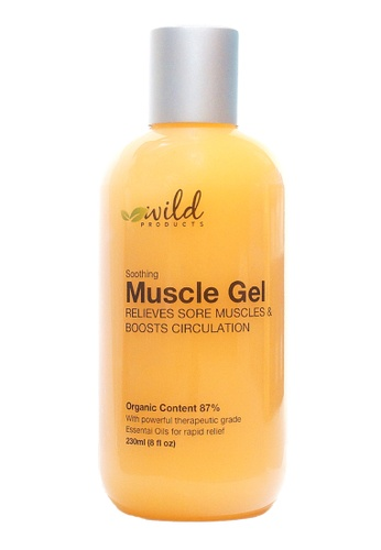 Wild Products Soothing Muscle Gel - 230ml 132C1BE79A4565GS_1