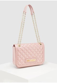f4fbb5ebf3e5 Love Moschino Quilted Shoulder Bag RM 1