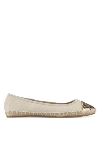 Dorothy Perkins CARRIE - Espadrilles - gold
