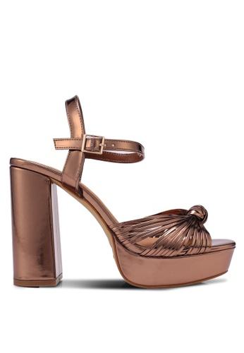 Rubi brown Bellini Platform Heels 40FA7SHBB5CA82GS_1