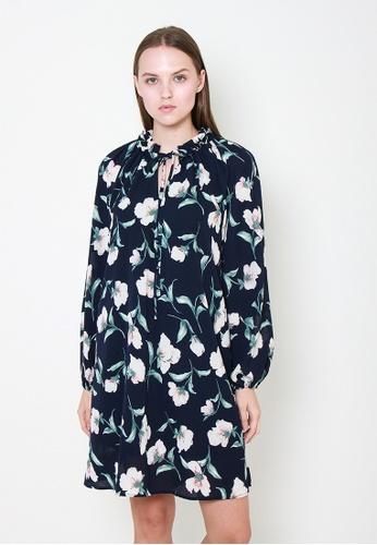 Leline Style blue Viviana Floral Dress 2C4F2AA7860663GS_1