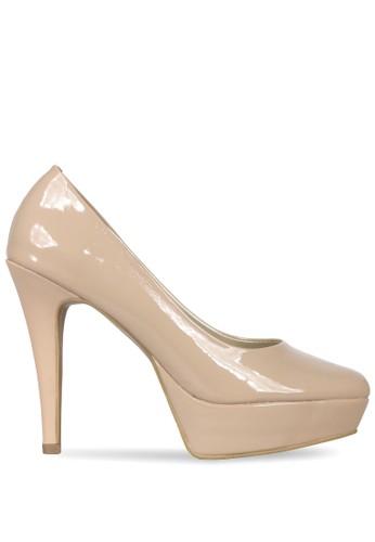 CLAYMORE beige Sepatu High Heels ED - 01 Cream CL635SH0UPZVID 1 159a18178c