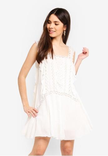 Free People white Priscilla Dress 38A61AAE0F2E28GS_1