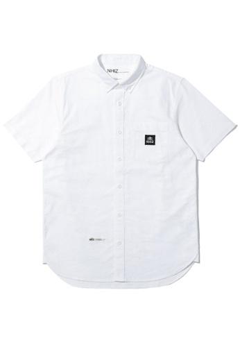 izzue white NHIZ shirt 03226AAF27DF17GS_1