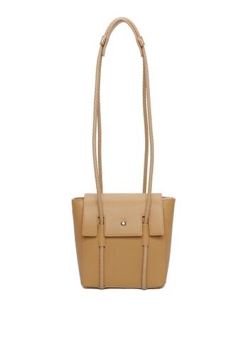 Milliot & Co. 褐色 Genesis Shoulder Bag BC84EAC0C454FEGS_1