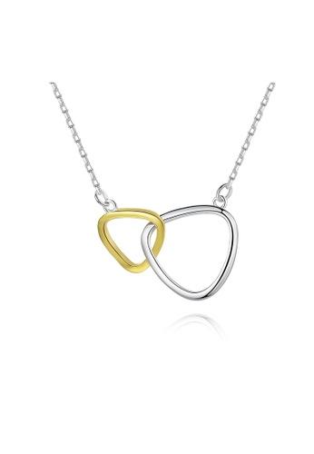 SUNRAIS silver Premium Silver S925 Silver Simple Design Necklace 45472ACB80B8C7GS_1