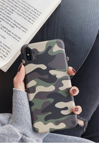 Kings Collection green Camouflage Army Green iPhone 11 Pro Case (KCMCL2231) 6C1E7ACA72B94DGS_1