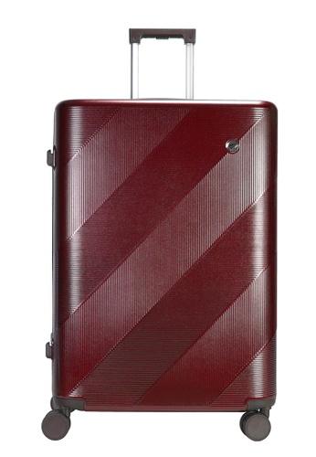 Airways red Airways 20 inch 4 Wheels Trolley Hard Case - ATH 7913 MAROON AF4CDACF5A77D6GS_1