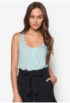 Flecked Knit Top