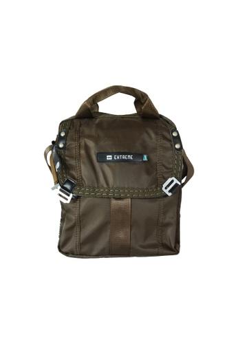 EXTREME green Extreme Tactical Sling Bag Lightweight Nylon Crossbody Army Green iPad 2 BF59FACB9C0EDCGS_1