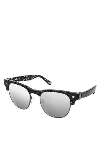 HEX EYEWEAR black Artist - Frida K. - Sunglasses - Italy Design HE671AC2V1JVHK_1
