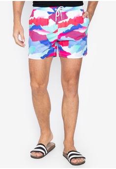 931ffcb19e OXYGEN multi Mid Rise Printed Swim Shorts 50BA6USBA1AC14GS_1