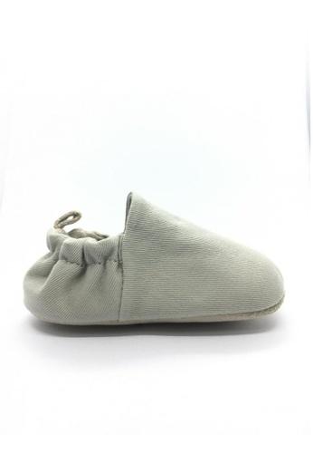 Poco Nido grey Poco Nido Plain Quartz Grey Plain Mini Shoe 6E2CCKSE73F60FGS_1