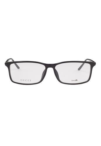 Gucci black GUCCI Eyewear 1048/F GVJ GU112AC59OVKMY_1