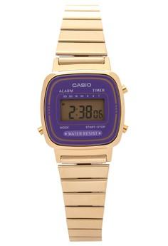 Digital Watch LA670WGA-6DF