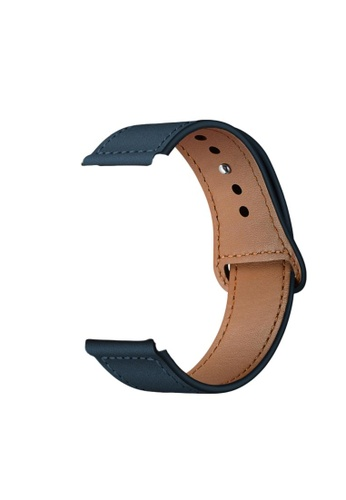 Kings Collection Ink Blue Genuine Leather Apple Watch Band 38MM / 40MM (KCWATCH1024) D8824AC02D78A6GS_1