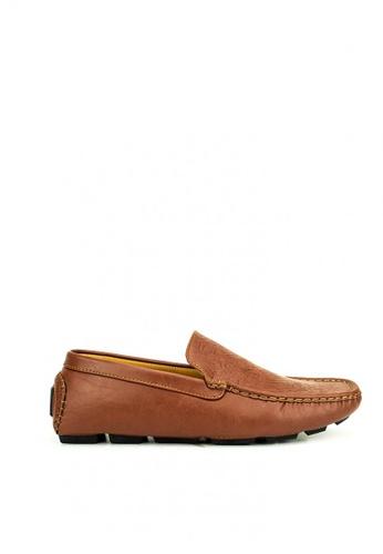 Mario D' boro Runway brown Cooper Loafers C3BDDSHC20D36AGS_1
