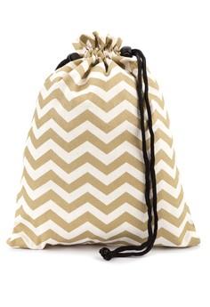 Chevron Shoe Bag