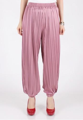 Meitavi's Plisket Jogger Pants - Lavender