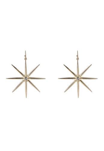 Megane gold Rigel Earrings F28F4ACAB1F982GS_1