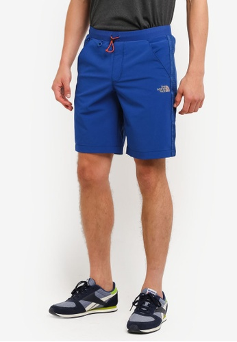 The North Face blue TNF M ECHO LAKE SHORT-AP LIMOGES BLUE TH879AA0FMCESG_1