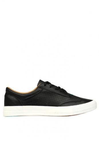 New York Sneakers black Osborn 216 Men's Low Cut Shoes 6F825SHBCEAB89GS_1