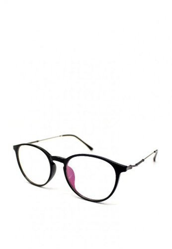 Peculiar and Odd black Peculiar Round 1757 Multicoated Eyeglass TR - 100 CA010GL50314C3GS_1