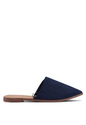 Rubi 海軍藍色 Charlotte Soft Mule Slip Ons BC61DSH420E166GS_1