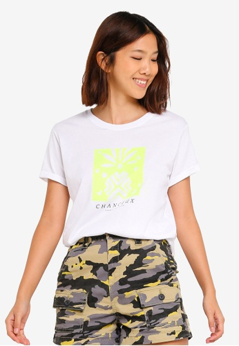 Cotton On white Tbar Fox Graphic T-Shirt 4D838AA5835A6AGS_1