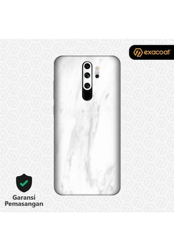 Exacoat Xiaomi Redmi Note 8 / Note 8 Pro 3M Skins Stone Series - Marble White 74C75ESB8AE3FAGS_1