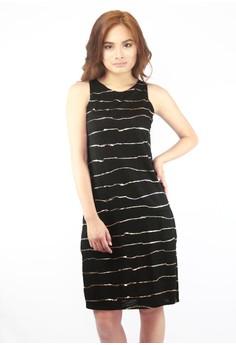 Mia Side Slits Midi Dress