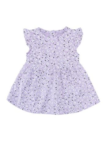 FOX Kids & Baby purple Printed Jersey Dress 03064KAAE0BABCGS_1