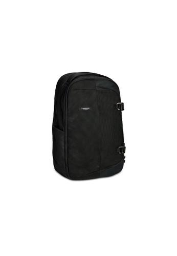 Timbuk2 black Timbuk2 Never Check Expandable Backpack OS 3C7EDAC88CD809GS_1