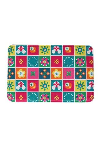 HOUZE HOUZE - Mickey Peranakan Garden - Memory Foam Mat (Disney) 7EF80HL447DC97GS_1